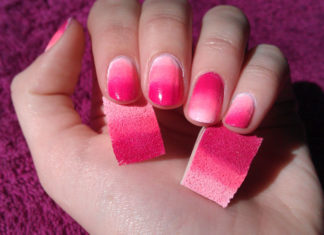 Nail Art Technique Using A Sponge For Beginners