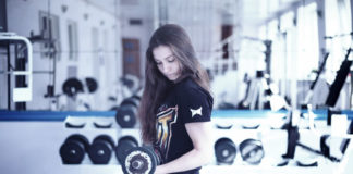 dumbbell workout for women