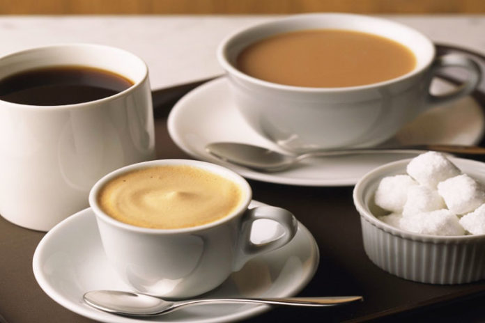 Горячие напитки кофе чай