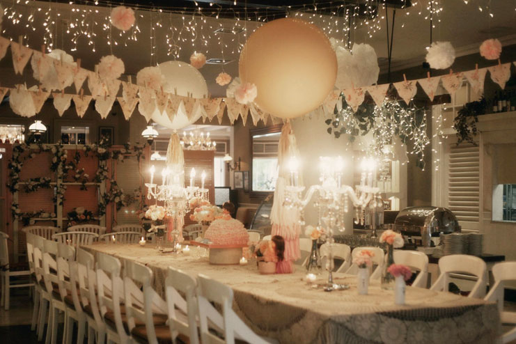 magical lights baby shower