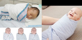 swaddle a baby step by step method