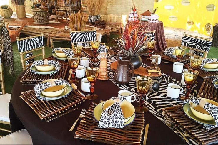 African themed wedding decor images wedding decoration ideas african themed wedding image collections wedding decoration ideas junglespirit Gallery