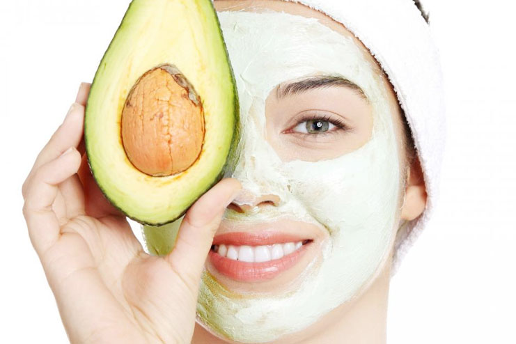 avocado face mask for beauty skin and hair care. Black Bedroom Furniture Sets. Home Design Ideas