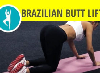 Brazilian butt lift workout