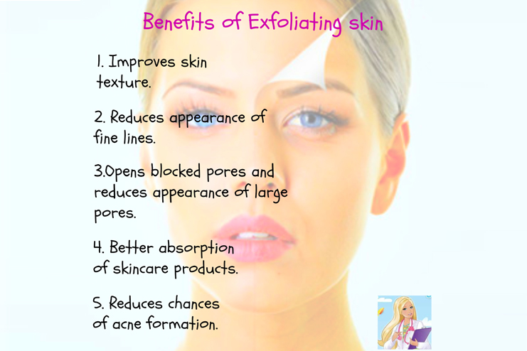 With Exfoliating, New Skin