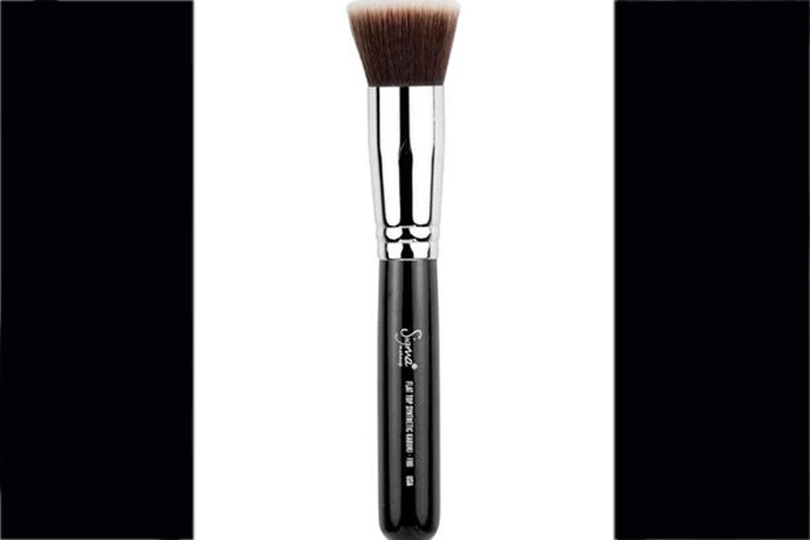 eye makeup brushes and their uses. different kinds of makeup brushes include: 1- foundation brush eye and their uses