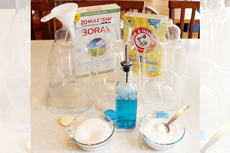 DIY laundry Detergent and Soap