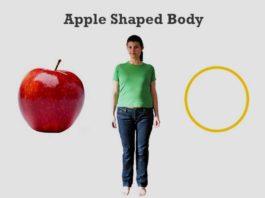 apple shaped body