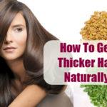 volume to thin hair home remedies