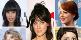 types of bangs