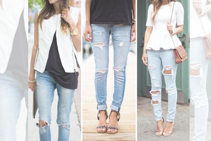 how to make your own ripped jeans at home