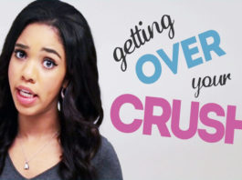 How to get over a crush easily