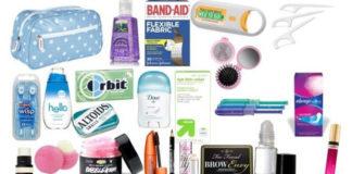Beauty kit for college girl