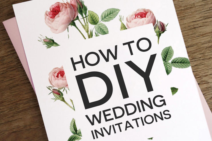 Diy wedding invitations that you can make yourself solutioingenieria Images