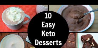 Low carb keto deserts