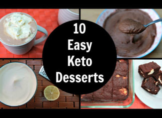 Low carb keto deserts