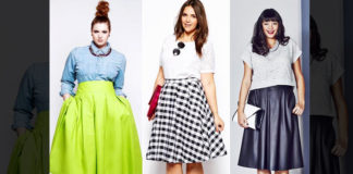 Skirts for plus sized women