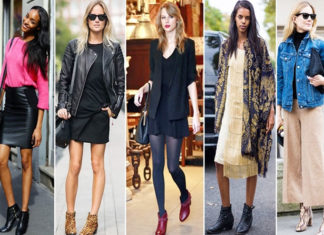 ankle boots in stylish way