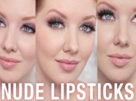 Most popular nude lipstick