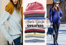 how to care for sweaters