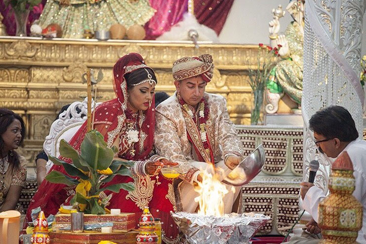 Traditional Hindu Wedding Vows