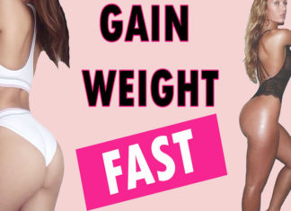 tips to gain weight quickly