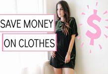 Ways to save money on wardrobe