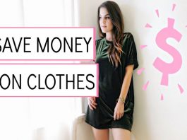 Ways to save money on wardrobe
