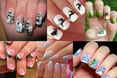 Top 30 Christmas Nail Art Ideas To Sparkle Your Festival Look