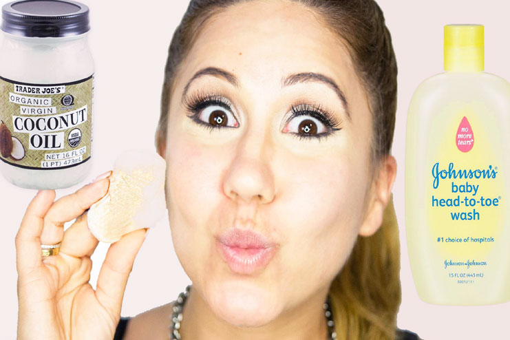 Natural makeup removal