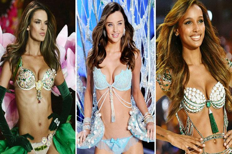 a1618d60be Victoria s Secret Fantasy Bra through the years