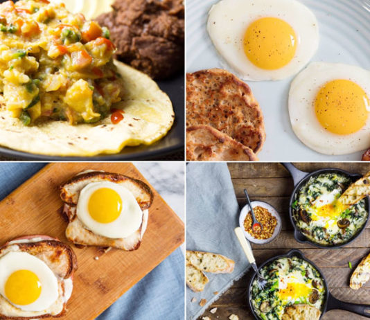 Healthy breakfast recipes to gain weight