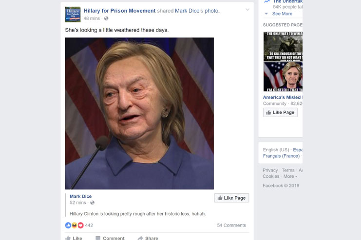 Check comments on facebook fake news