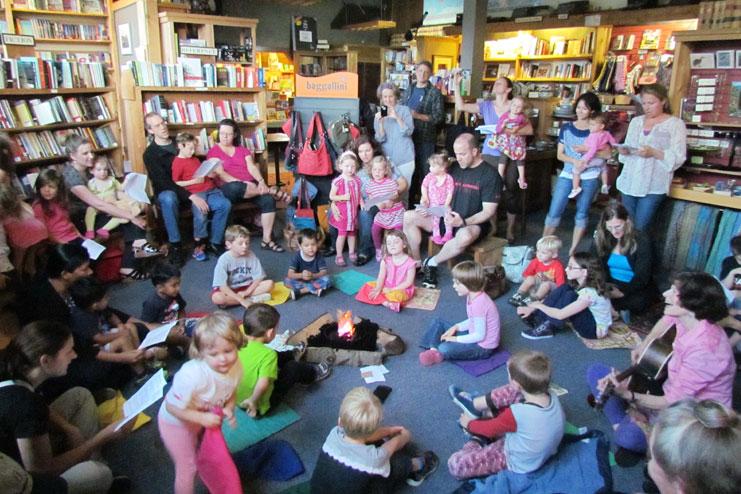 Take kids to library