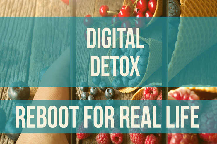 Digital detox your spaces