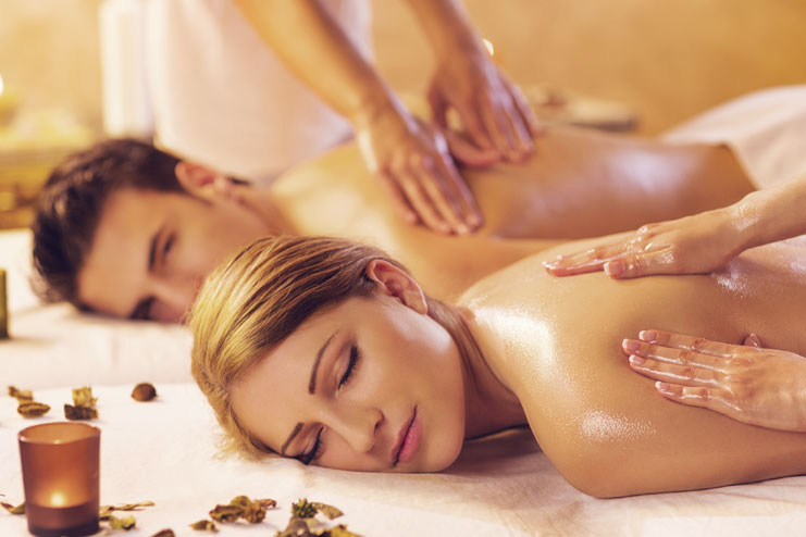 Get ahead with couple spa