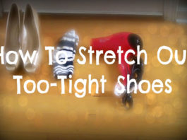 how to stretch out shoes