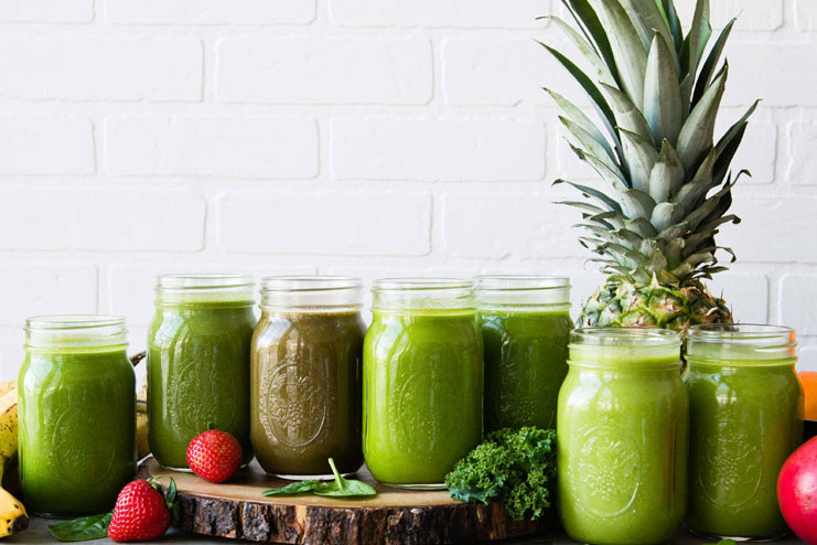 Green smoothies increase energy