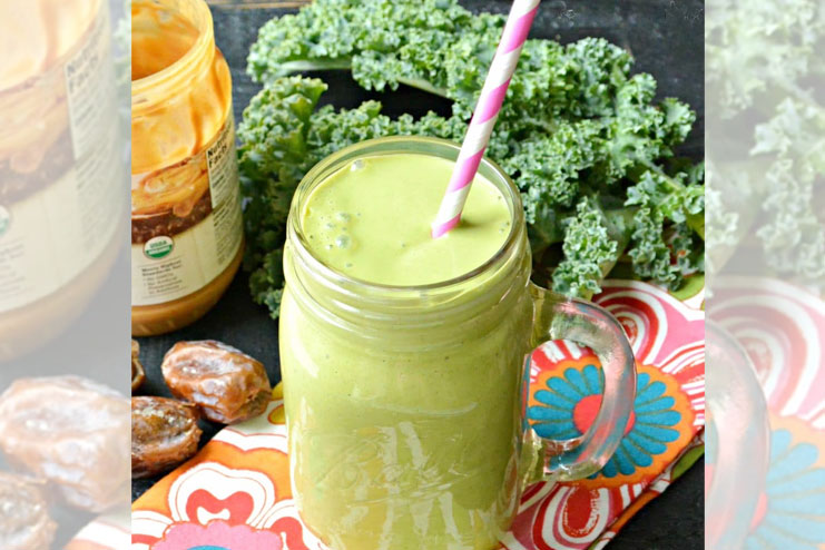 Green smoothies support