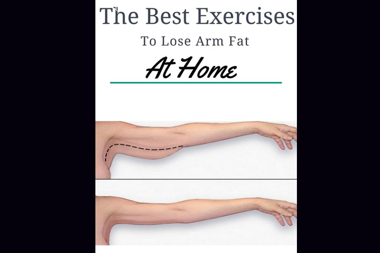 lose arm fat at home with exercises