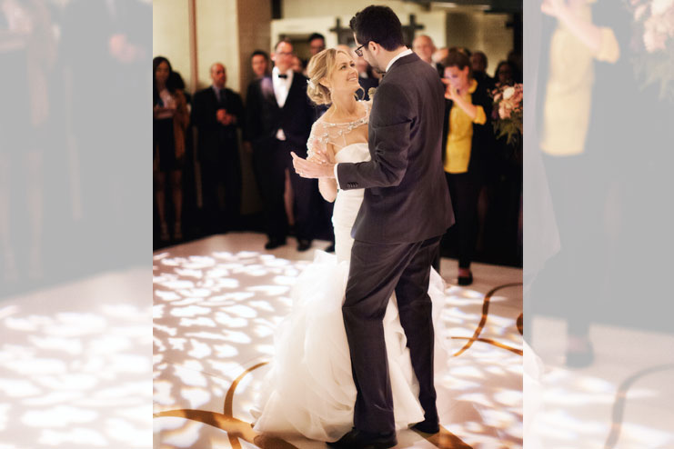 The first dance is your moment