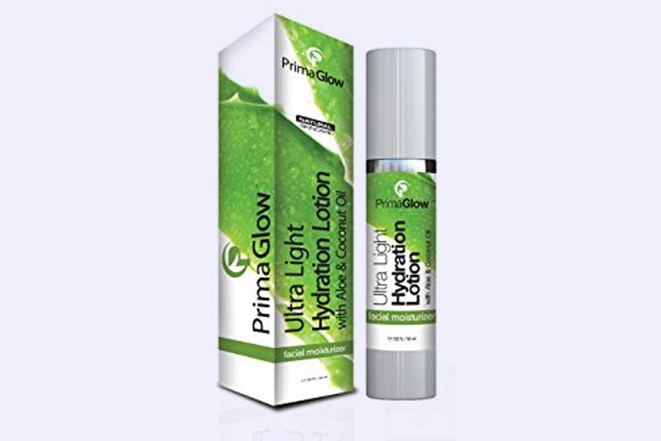 Prima glow ultra light hydration lotion