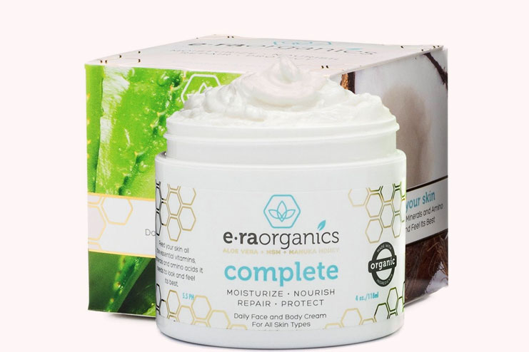 Natural face moisturizer cream
