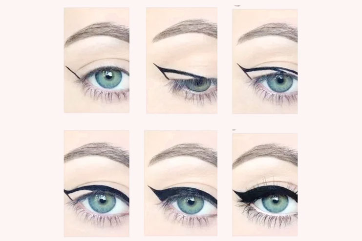 Tips for cat eye makeup