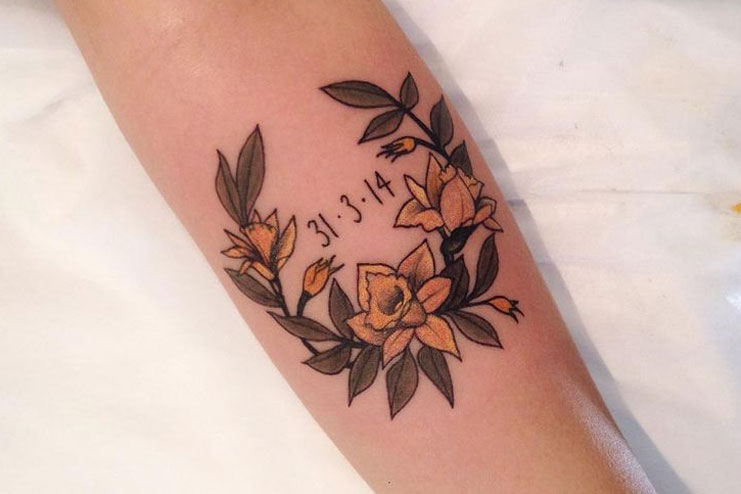 Daffodil-tattoos-designs-and-ideas07