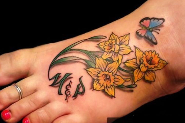 Daffodil-tattoos-designs-and-ideas08