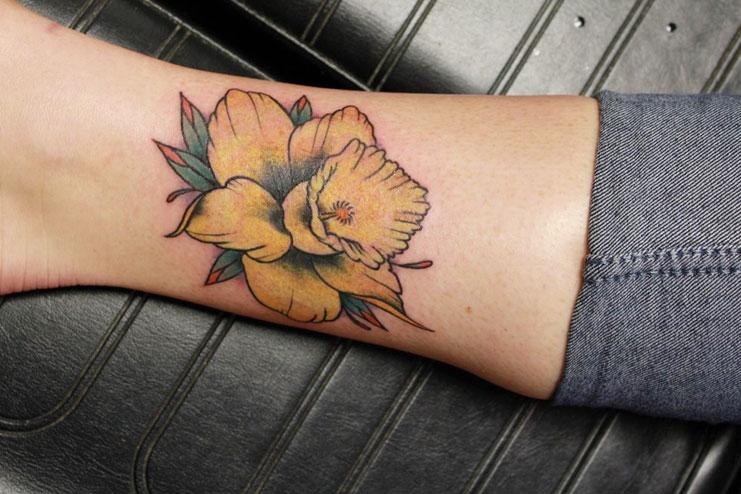 Daffodil-tattoos-designs-and-ideas15