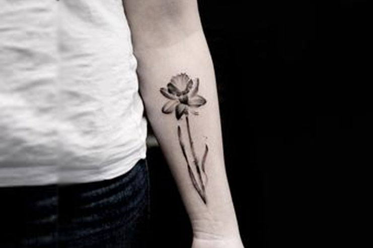 Daffodil-tattoos-designs-and-ideas17