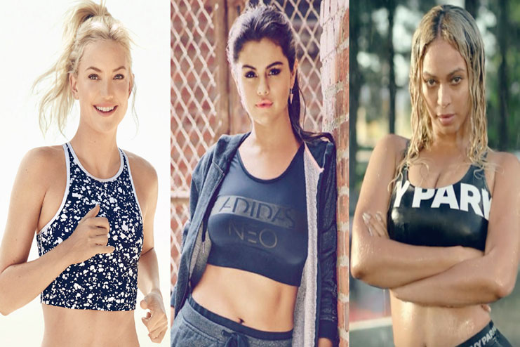 female celebrity workouts