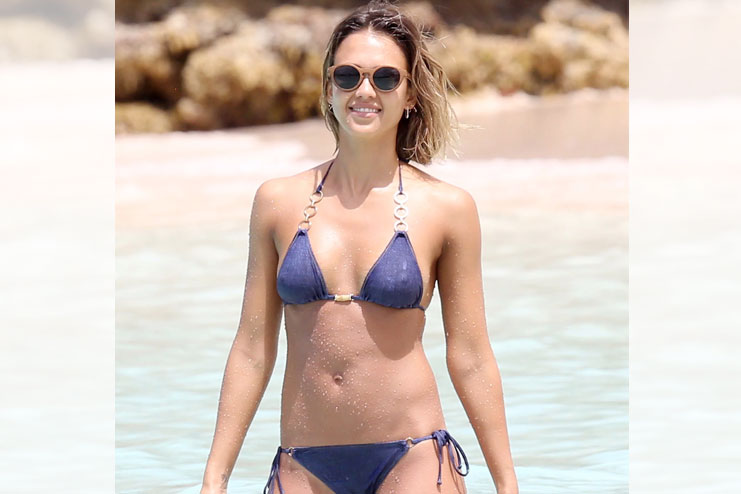 Jessica Alba from the honest company
